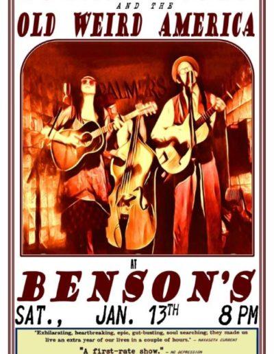BENSONS POSTER