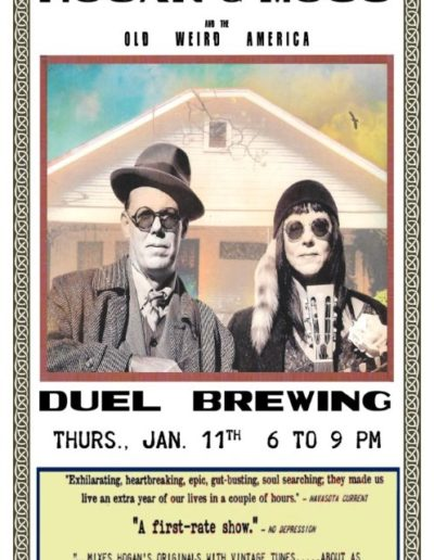 DUEL BREWING POSTER 11 x 17