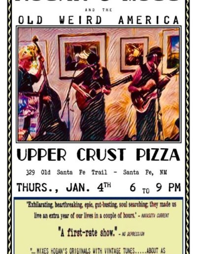 UPPER CRUST PIZZA POSTER
