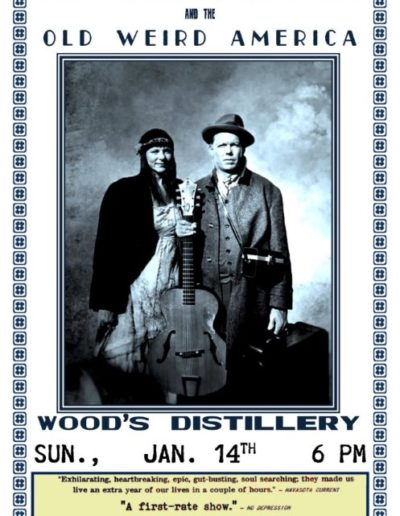 Woods Distillery Poster